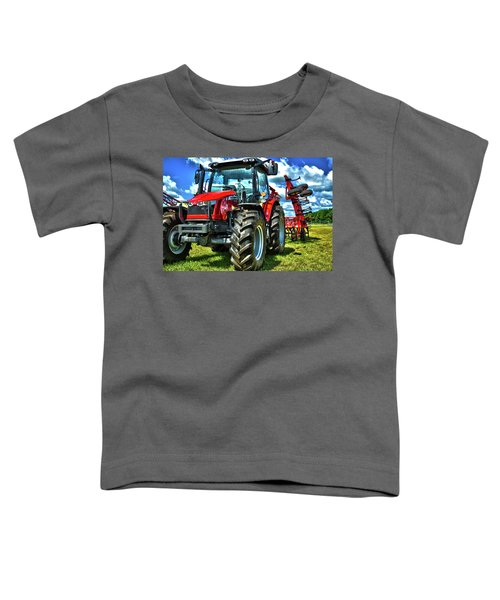 Massey Ferguson Tractor Toddler T-Shirt