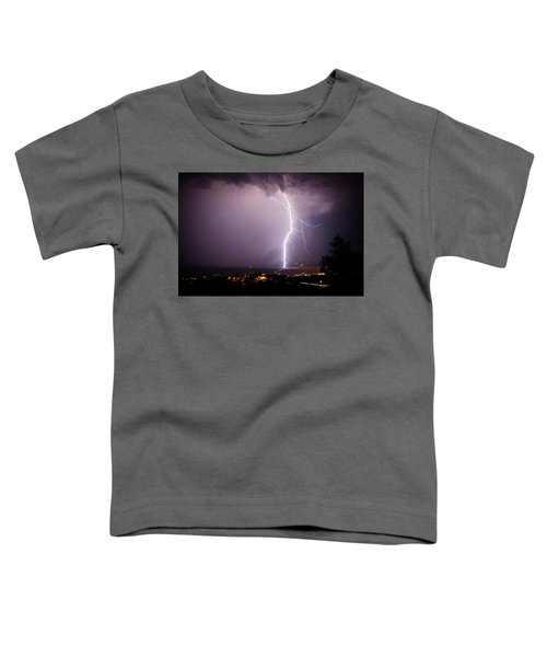 Massive Lightning Storm Toddler T-Shirt