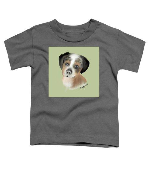 Toddler T-Shirt featuring the digital art Mathilda by Gerry Morgan