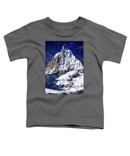 Matterhorn At Twilight Toddler T-Shirt