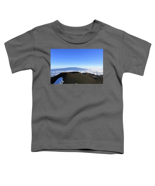 Mauna Loa In The Distance Toddler T-Shirt