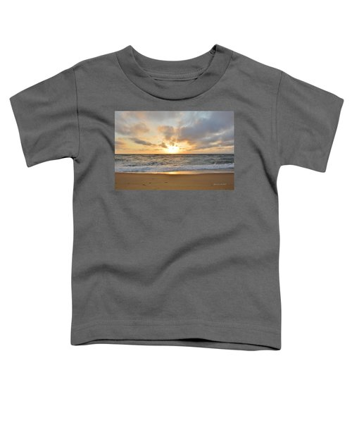 May Sunrise In Obx Toddler T-Shirt
