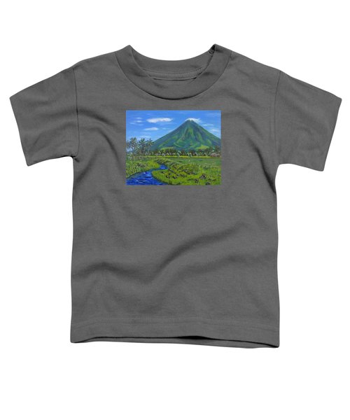 Mayon Volcano Toddler T-Shirt