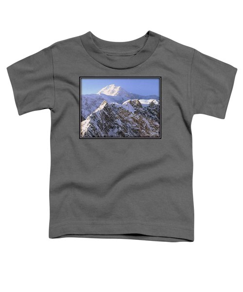 Toddler T-Shirt featuring the photograph Mc Kinley Peak by James Lanigan Thompson MFA