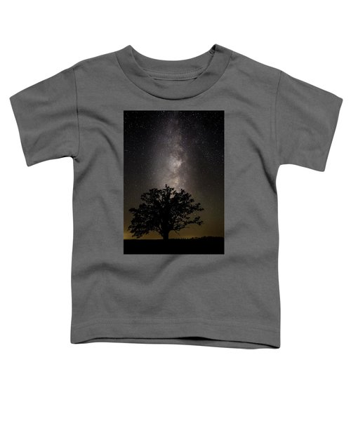Mcbaine Bur Oak With Milky Way Toddler T-Shirt