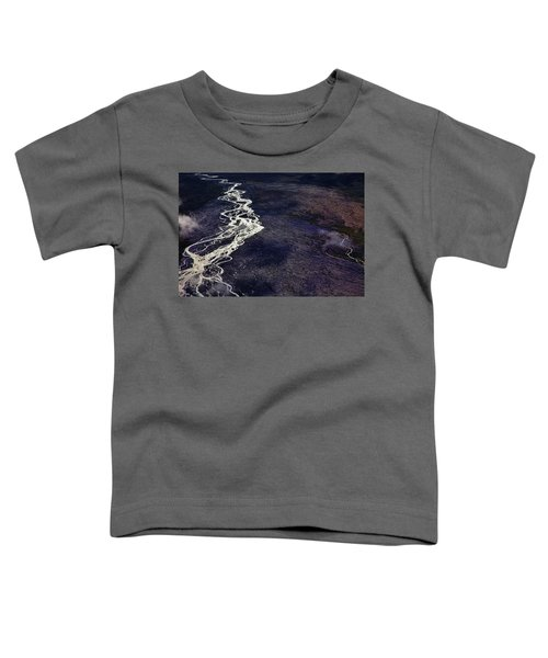 Mckinley River From The Air Toddler T-Shirt