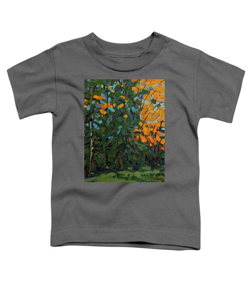 Mcmichael Forest Wall Toddler T-Shirt