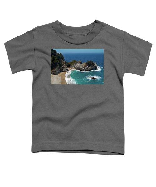 Mcway Falls In Big Sur Toddler T-Shirt