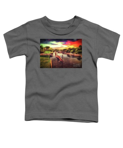 Meanwhile Back On The River Toddler T-Shirt