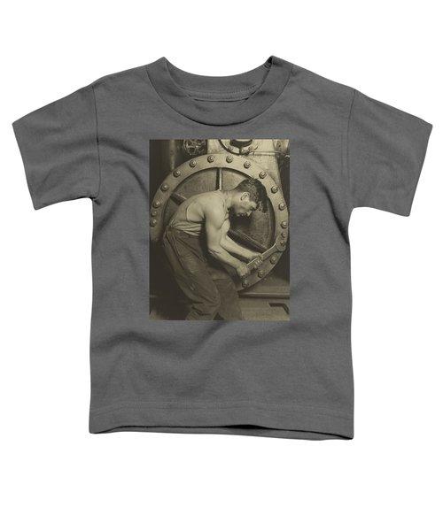 Mechanic And Steam Pump Toddler T-Shirt