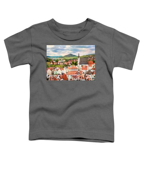 Medieval Village  Toddler T-Shirt