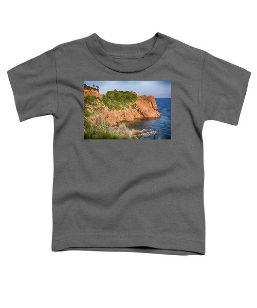 Mediterranean French Coastline Toddler T-Shirt