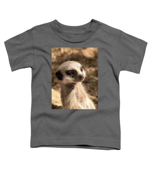 Meerkatportrait Toddler T-Shirt