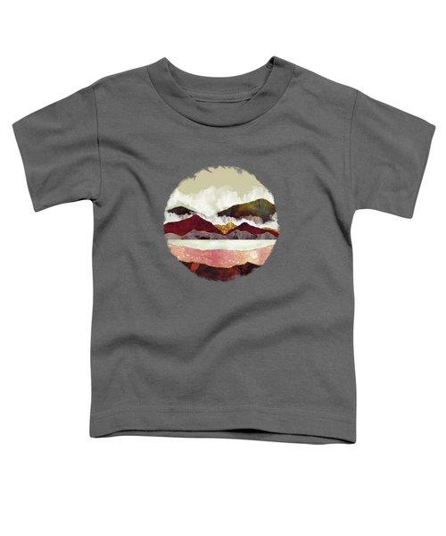 Melon Mountains Toddler T-Shirt by Katherine Smit