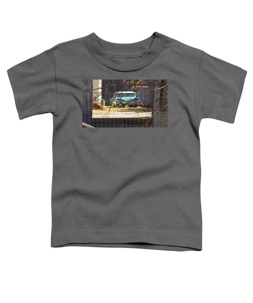 Memories Of Old Blue, A Car In Shantytown.  Toddler T-Shirt