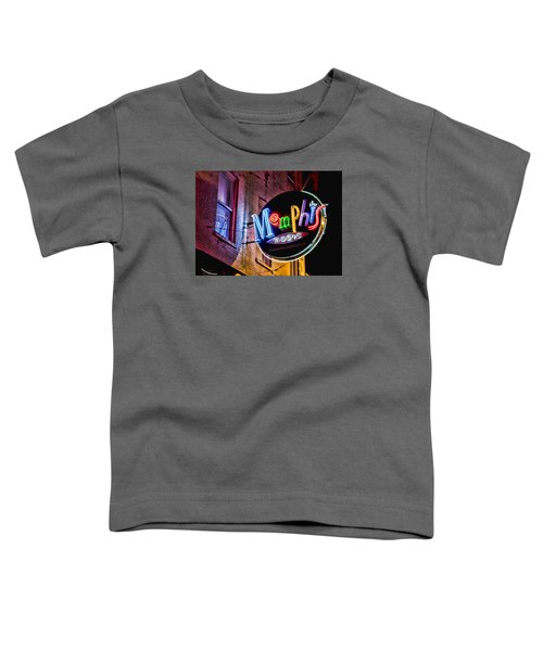 Memphis Music Toddler T-Shirt