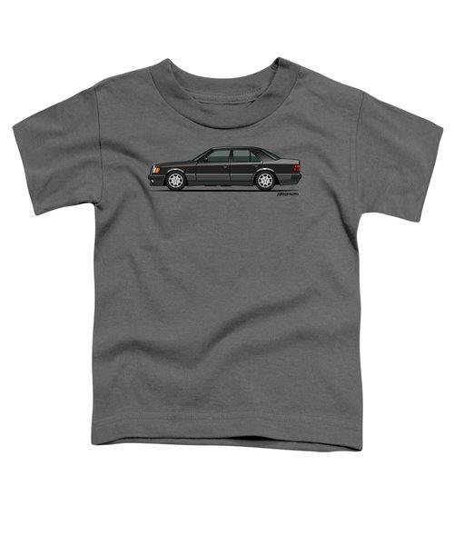 Mercedes Benz 500e W124 Blue-black Metallic Toddler T-Shirt