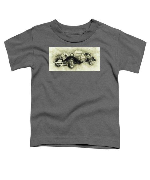 Mercedes-benz Ssk 1 - 1928 - Automotive Art - Car Posters Toddler T-Shirt