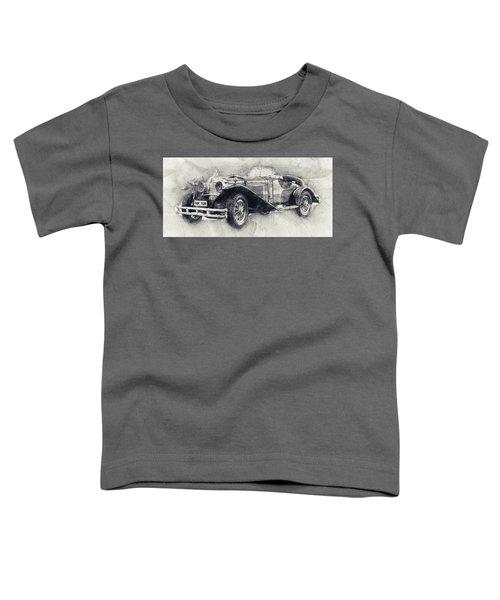 Mercedes-benz Ssk - 1928 - Automotive Art - Car Posters Toddler T-Shirt