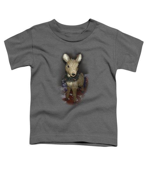 Merry Christmas Deer Toddler T-Shirt