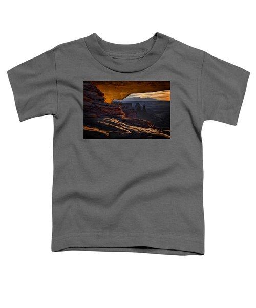 Mesa Arch Glow Toddler T-Shirt