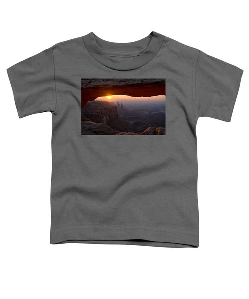 Mesa Arch Sunrise Toddler T-Shirt