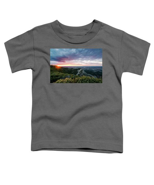 Mesa Verde Sunset Toddler T-Shirt