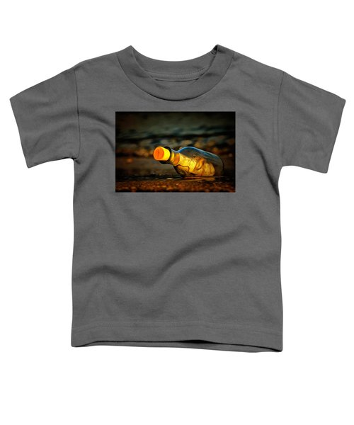 Message In A Bottle Toddler T-Shirt