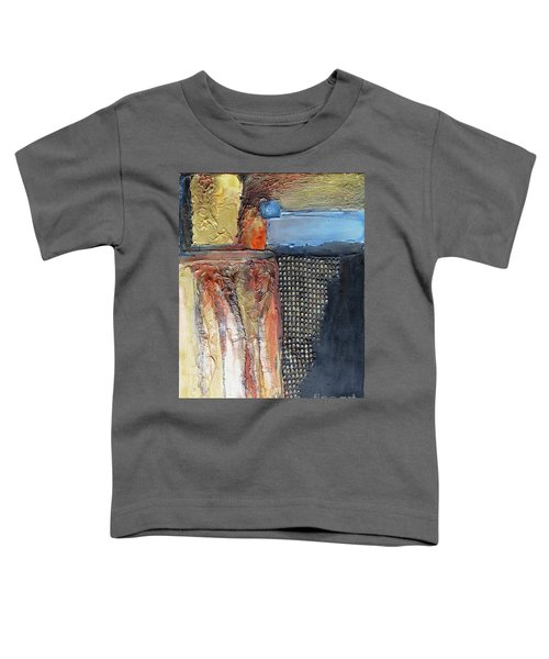 Metallic Fall With Blue Toddler T-Shirt