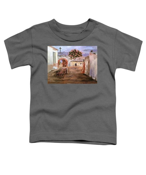Mexican Street Scene Toddler T-Shirt