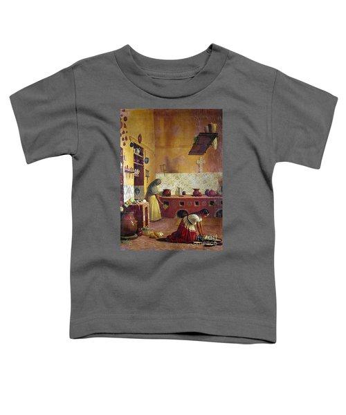 Mexico: Kitchen, C1850 Toddler T-Shirt