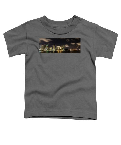 Miami Skyline Toddler T-Shirt