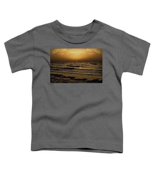Miami Sunrise Toddler T-Shirt