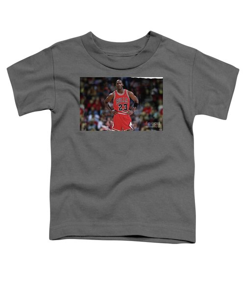 Michael Jordan, Number 23, Chicago Bulls Toddler T-Shirt