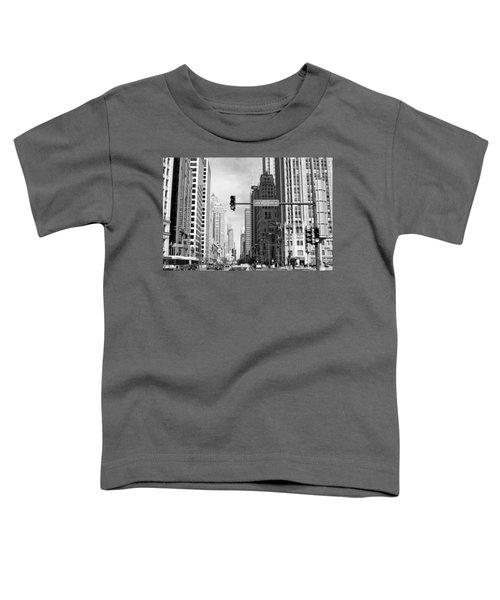 Michigan Ave - Chicago Toddler T-Shirt