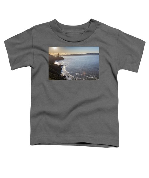 Mid Morning View Of The Downtown San Franscisco Over The Golden  Toddler T-Shirt
