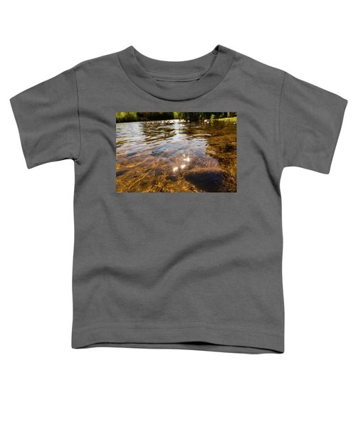 Middle Of The River Toddler T-Shirt
