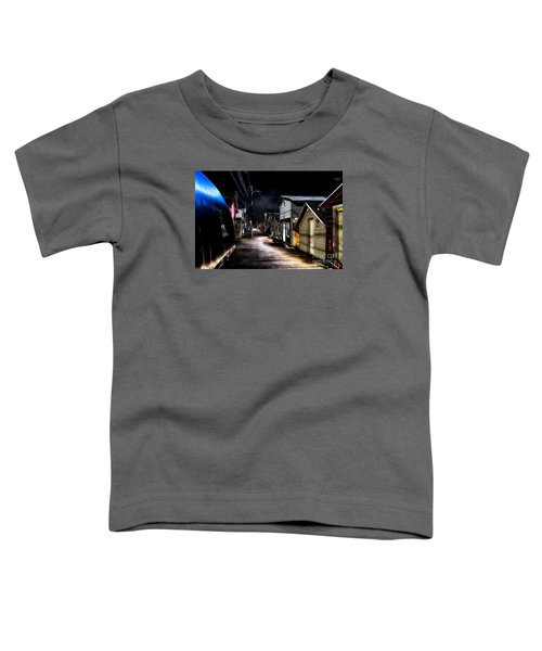 Midnight At The Boathouse Toddler T-Shirt