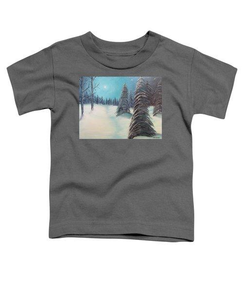 Midnight Silence Toddler T-Shirt