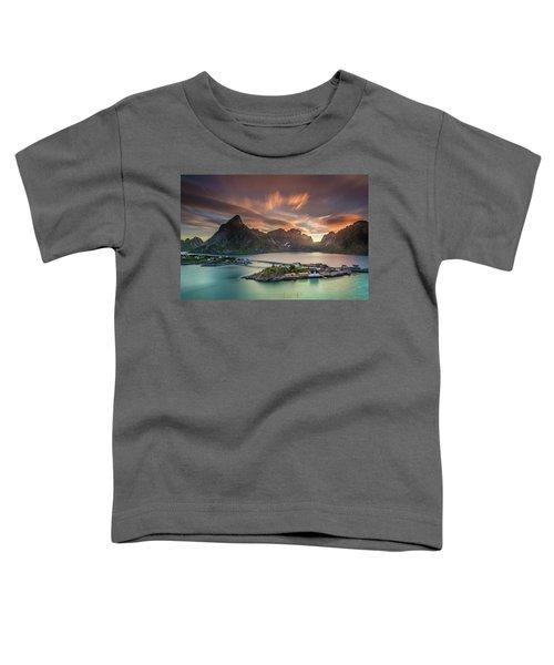 Midnight Sun Galore Toddler T-Shirt