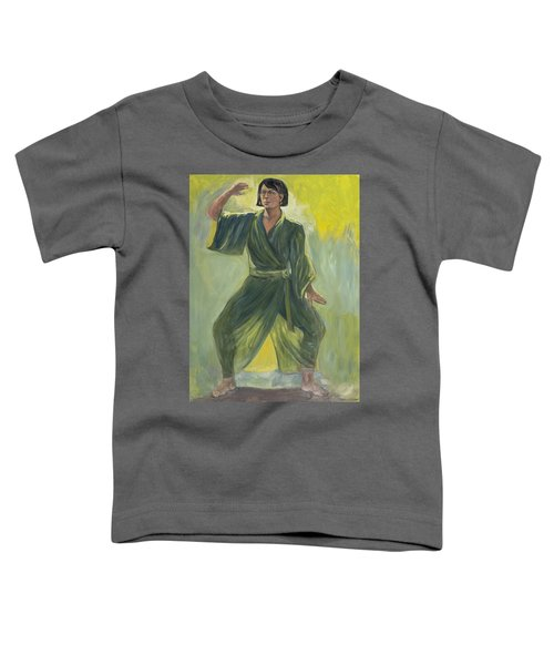 Mighty Woman Kick-butt Toddler T-Shirt