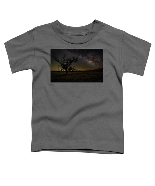 Miily Way In A Late Spring Sky Toddler T-Shirt