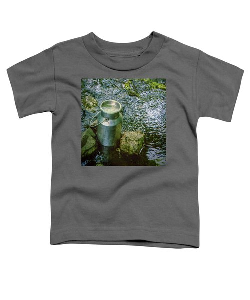 Milk Can - Wales Toddler T-Shirt