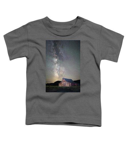 Milky Way And Barn Toddler T-Shirt