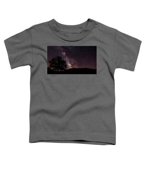 Milky Way And The Tree Toddler T-Shirt