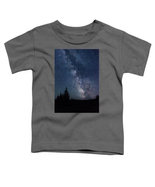 Milky Way At Eastern Oregon Wilderness Toddler T-Shirt