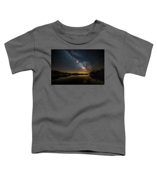 Milky Way At Hunter Cover Toddler T-Shirt