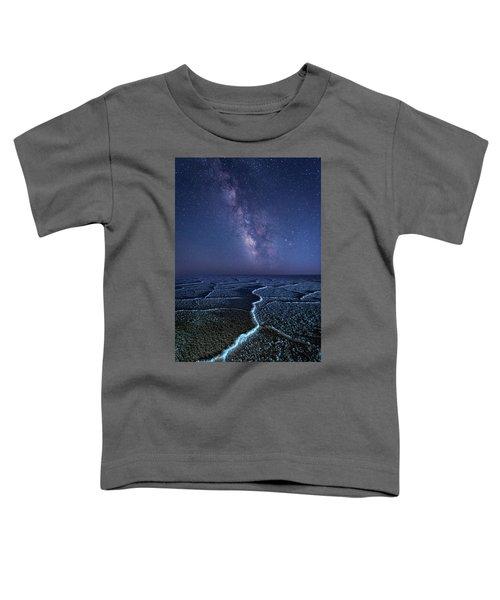 Milky Way At The Salt Flats Toddler T-Shirt