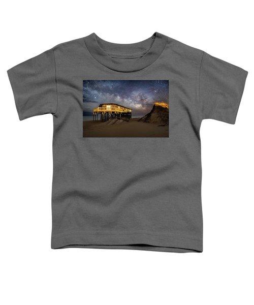 Milky Way Beach House Toddler T-Shirt