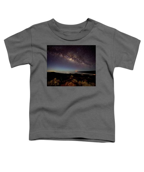 Milky Way From Mauna Kea Toddler T-Shirt